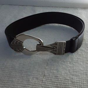 Chico's Women Black Adjustable Belt